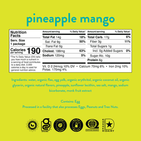 Pineapple Mango Cake (Pack of 6)