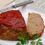 Great Meatloaf With Sweet Potato Mash