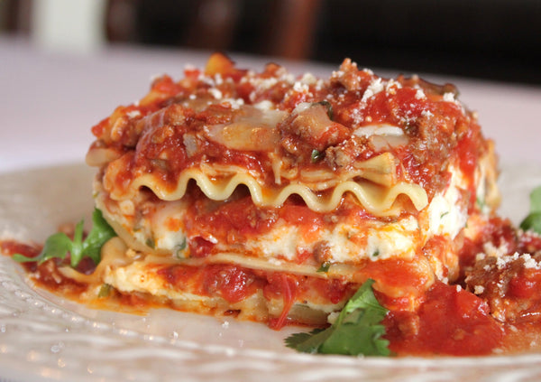 Authentic Italian Turkey Lasagna