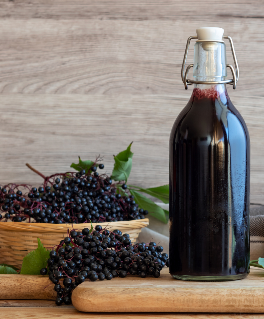 "BLACK ELDERBERRY SYRUP: ""CRUD BUSTER"""