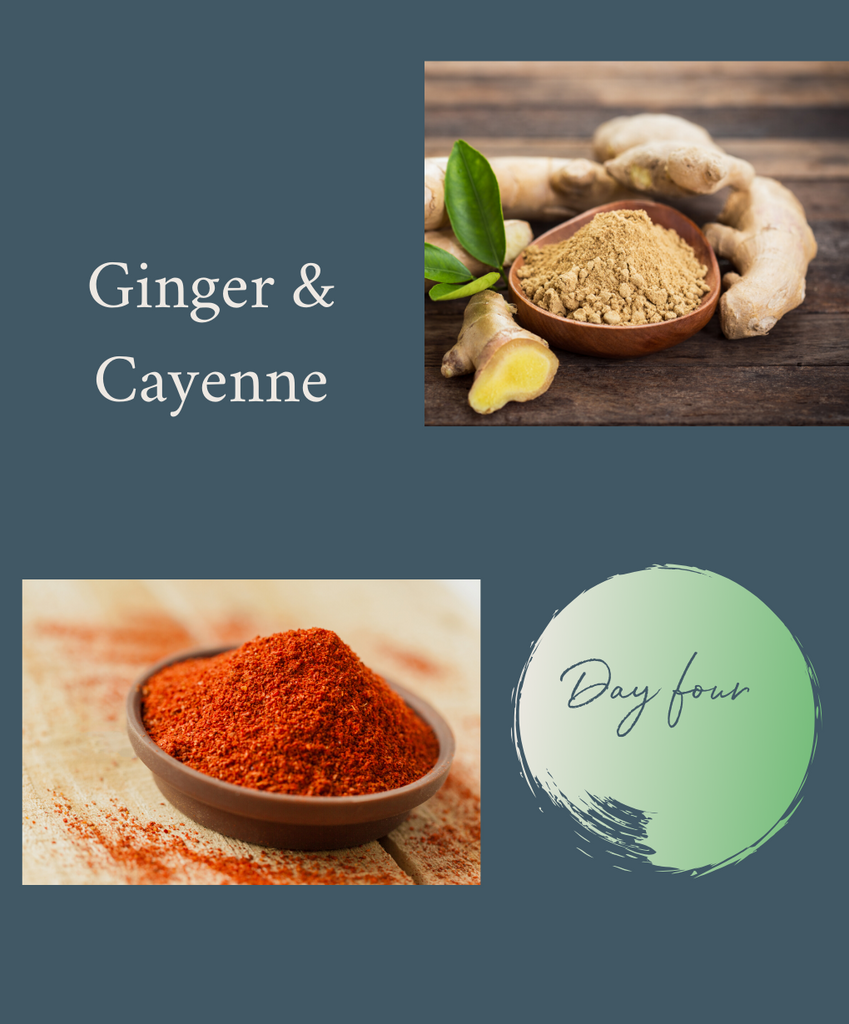 5-DAY HERBAL RESET CHALLENGE: DAY 4 GINGER & CAYENNE