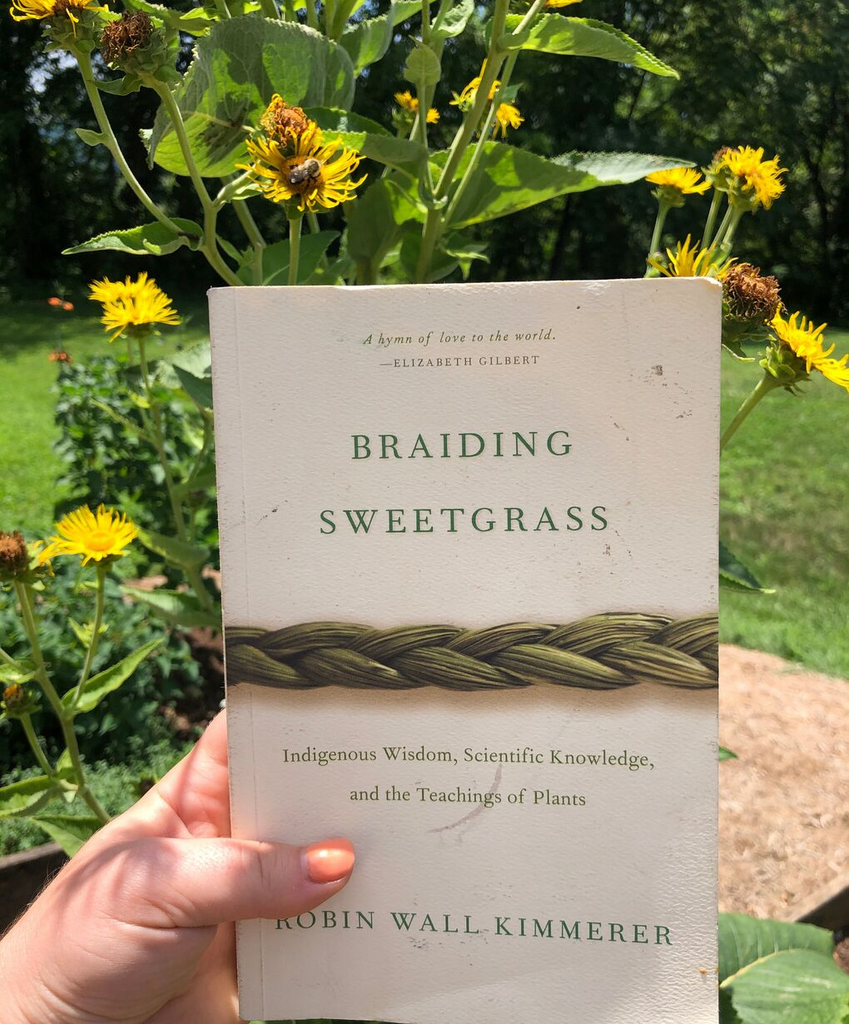 BRAIDING SWEETGRASS: TRANSFORMING BOOK FOR PLANT LOVERS