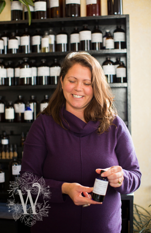 Colleen O'Bryant, herbalist and owner of Wild Roots Apothecary