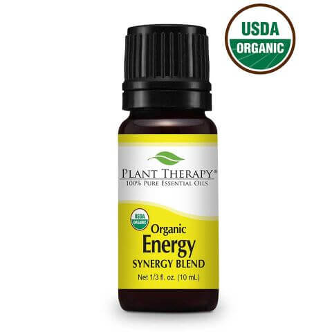 Organic Energy Synergy Essential Oil Blend 10 ml