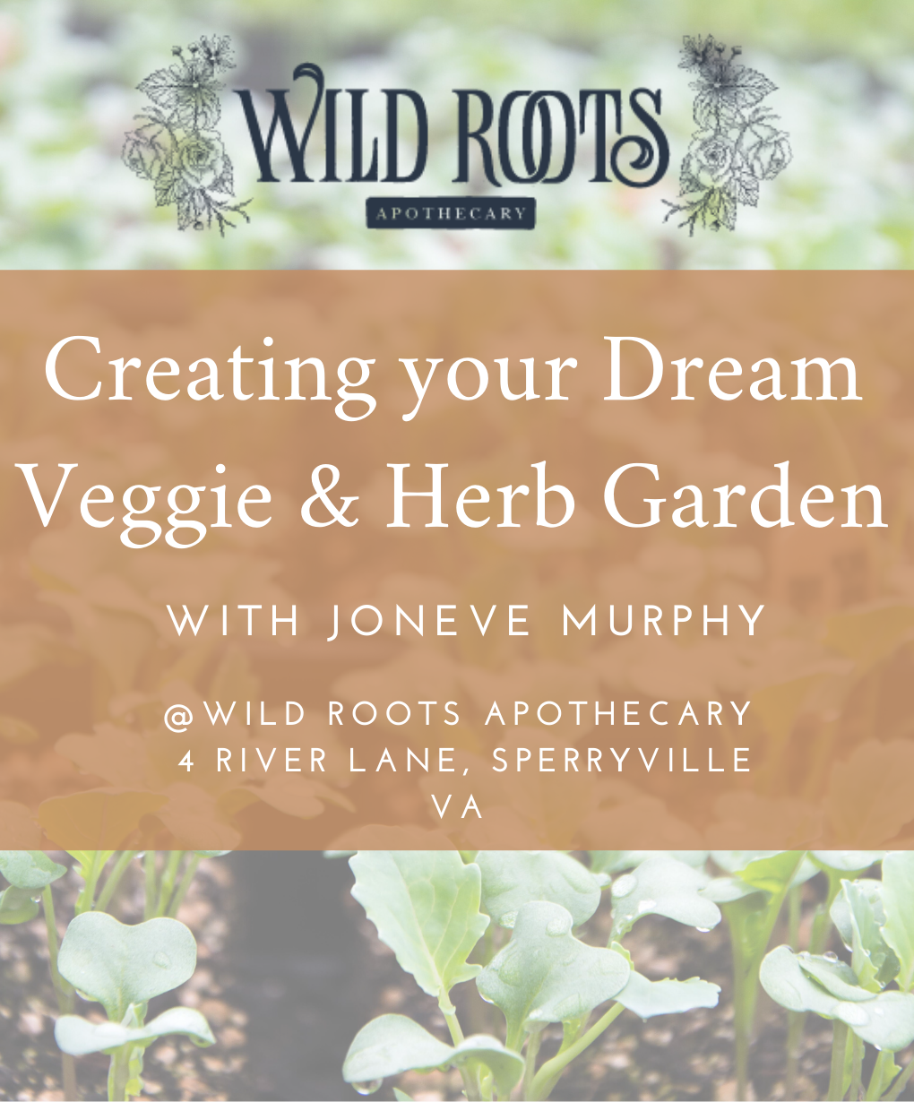 Create your Dream Herb & Vegetable Garden with Joneve Murphy