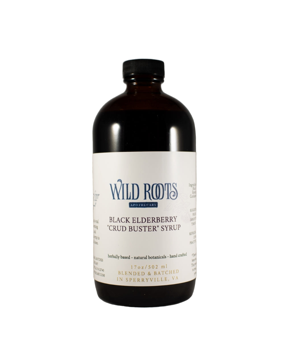 Elderberry Crud Buster Syrup