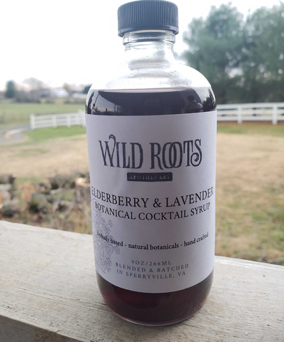 Elderberry Lavender Botanical Syrup