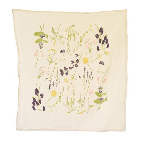 Eastern Region Wildflowers Kitchen Towel