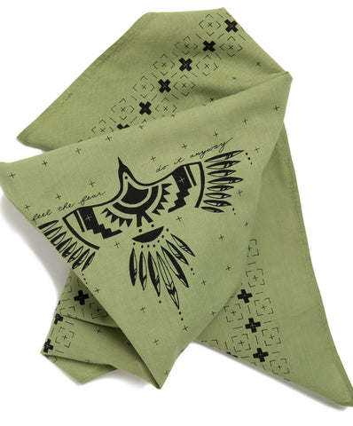"Image of Jenni Earle ""Feel The Fear"" Bandana"