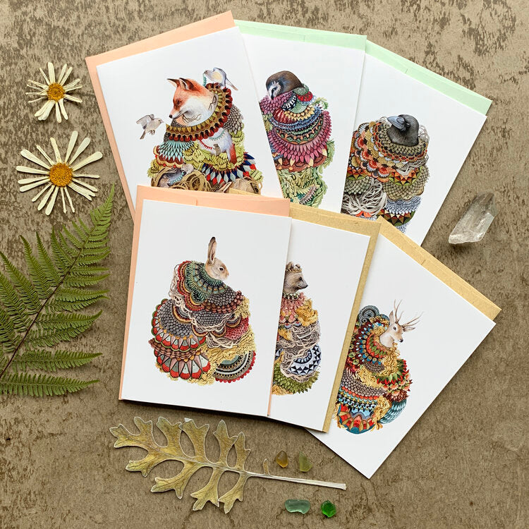Quilted Forest - Small Card Pack