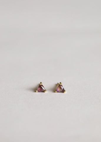 Image of Earrings Post Amethyst (Healing)
