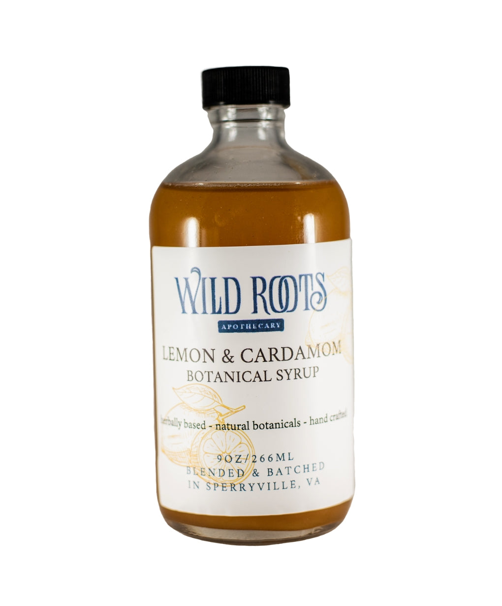 Lemon Cardamom Botanical Syrup