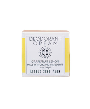 Little Seed Farm - Grapefruit Lemon Deodorant Cream