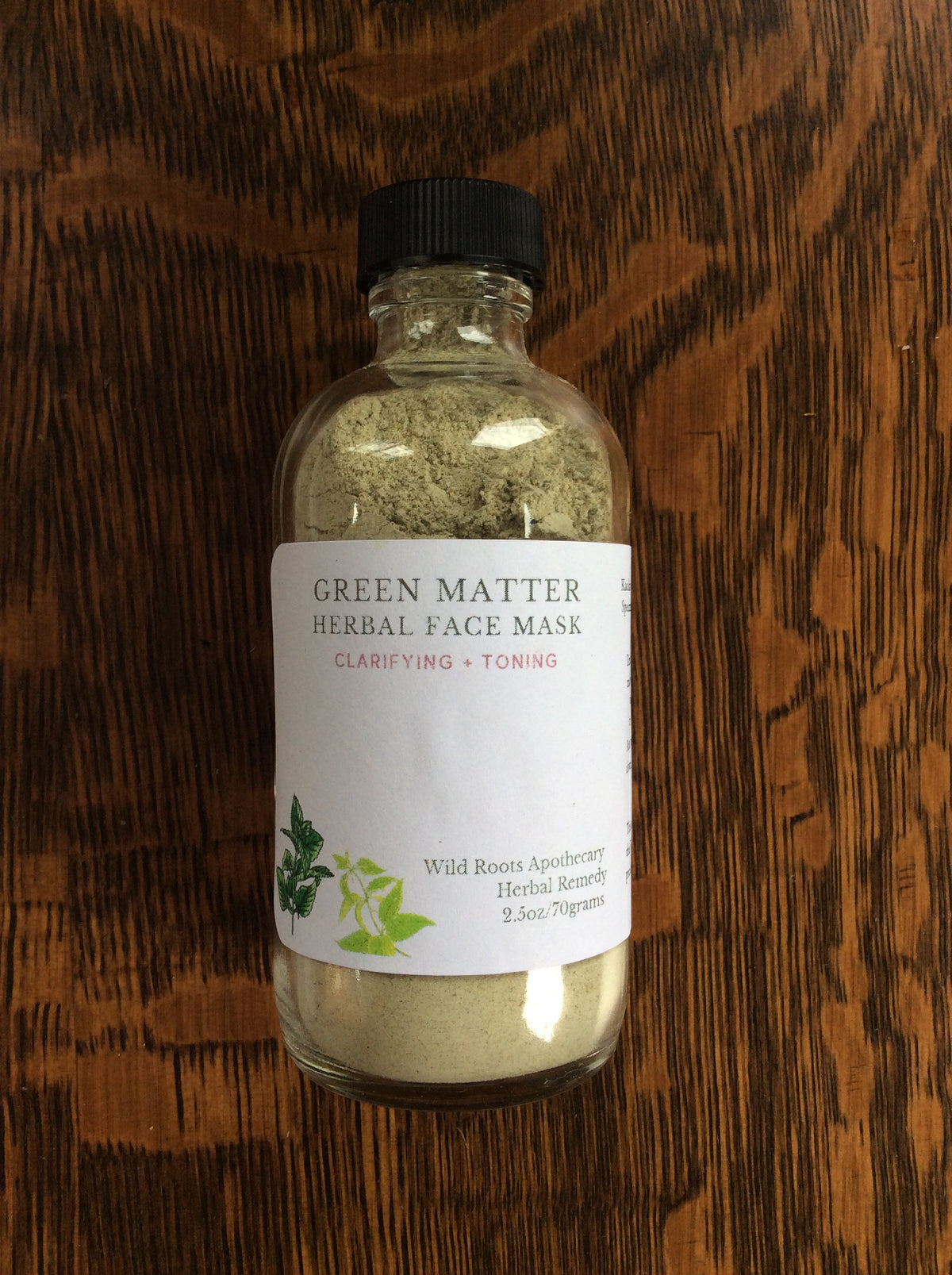 Green Matter Herbal Face Mask