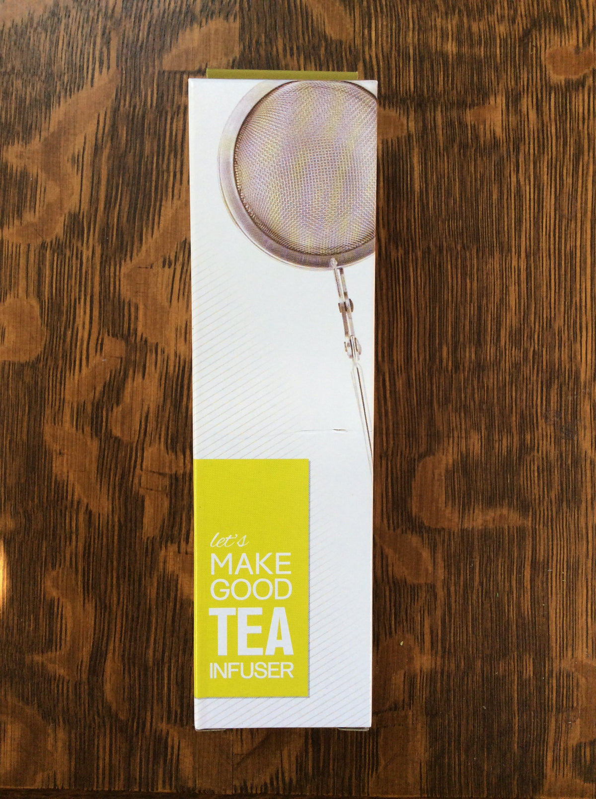 Let's Make Good Tea Mesh Infuser with Handle