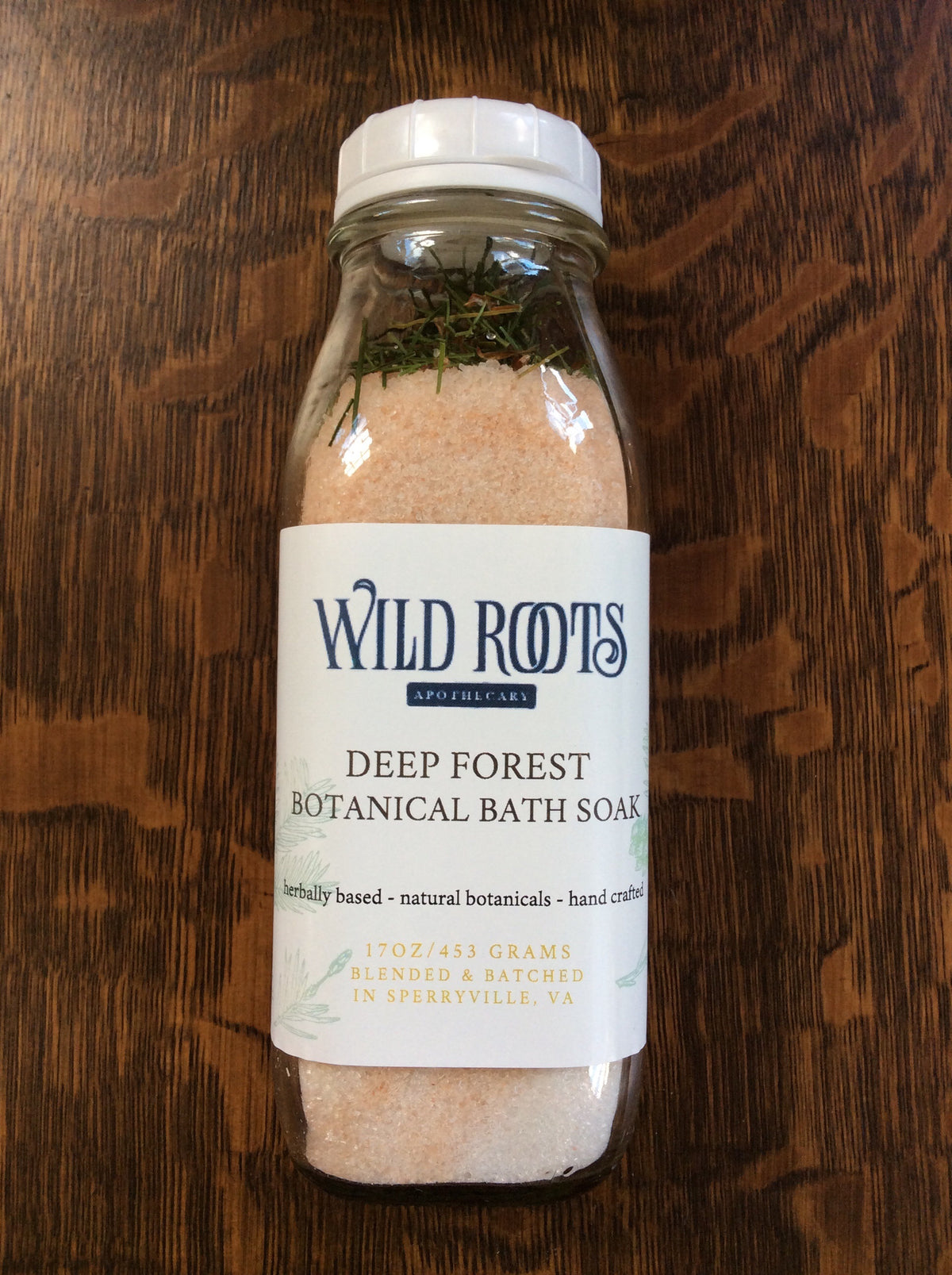 Deep Forest Botanical Bath Salt Soak