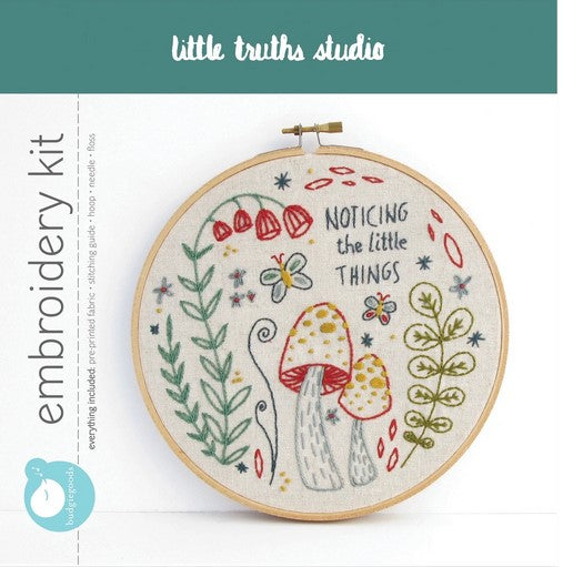 Embroidery Kit- Noticing the Little Things