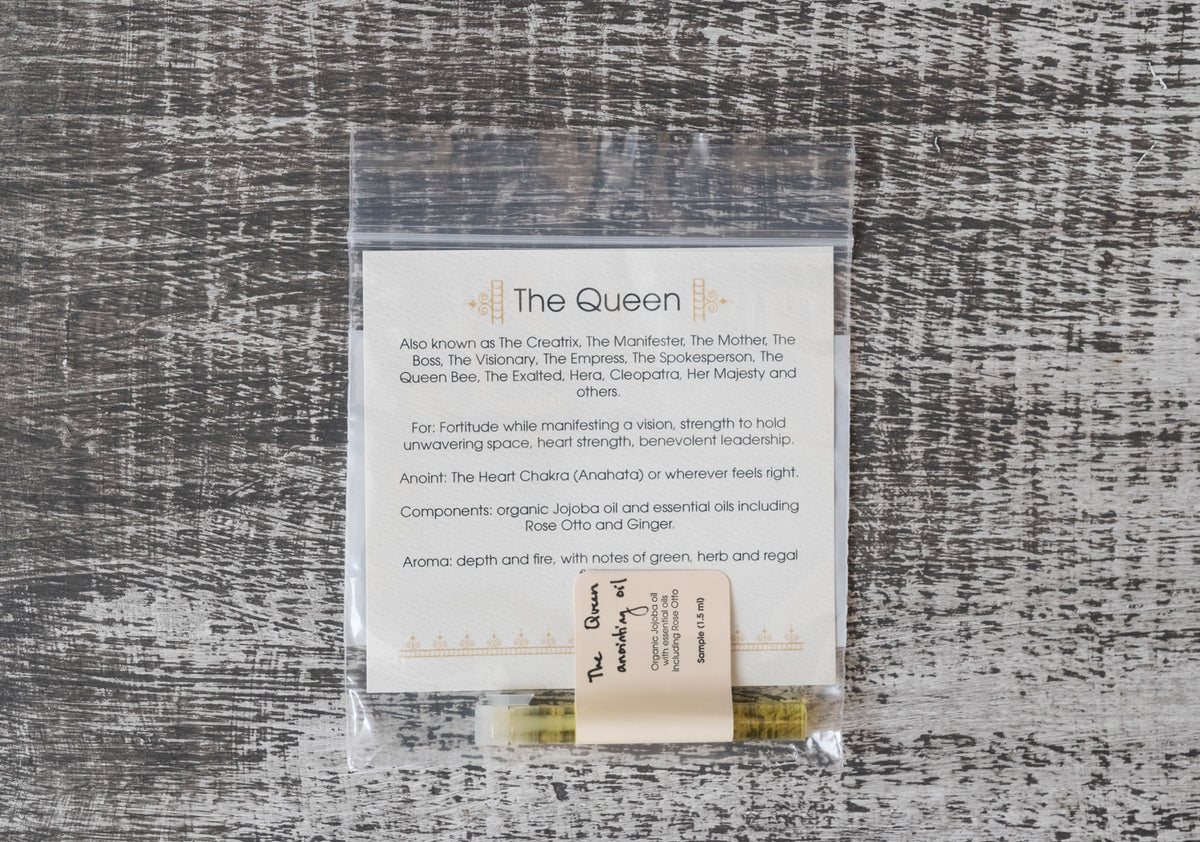 River Island Apothecary: The Queen Anointing Oil