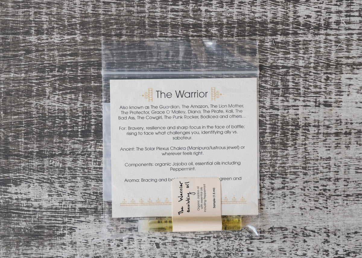 River Island Apothecary: The Warrior Anointing Oil