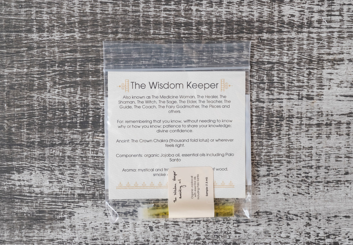 River Island Apothecary: The Wisdom Keeper Anointing Oil