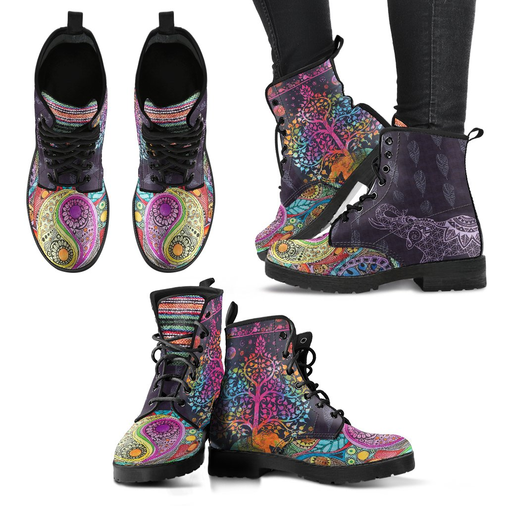 Yoga Women's Leather Boots