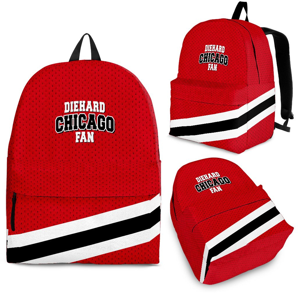 Die Hard Chicago Fan Backpack