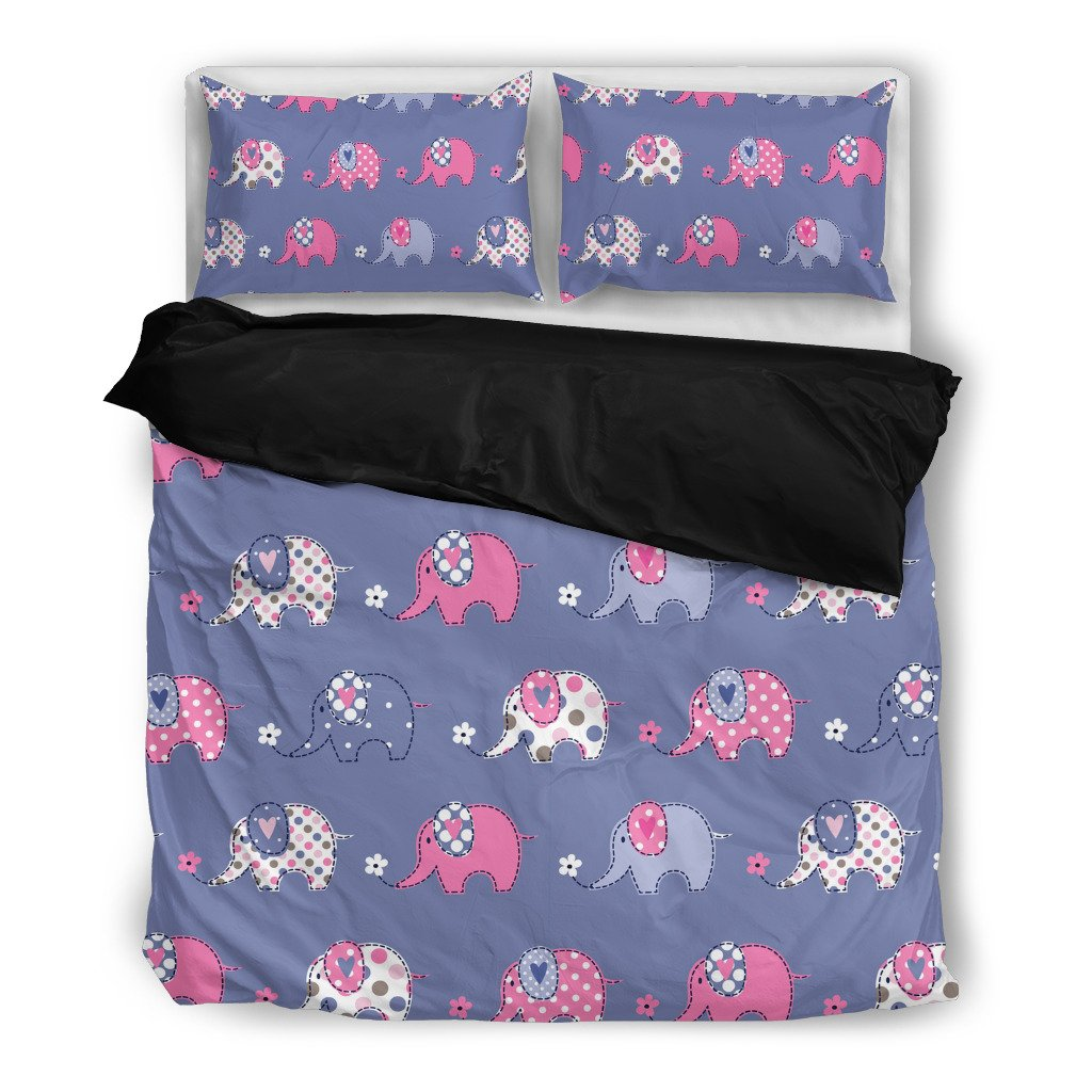 Be Happy Be You Elephant Bedding Set - Gear Stop Shop