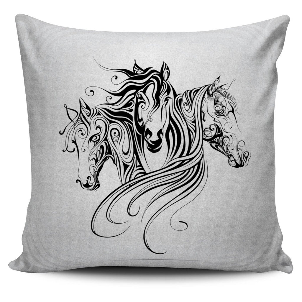 Amazing Horse Art Pillow Offer - Gear Stop Shop