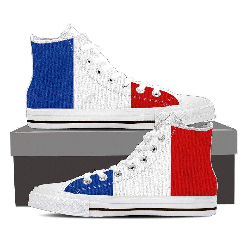 Flag Design Men's High Top Shoes