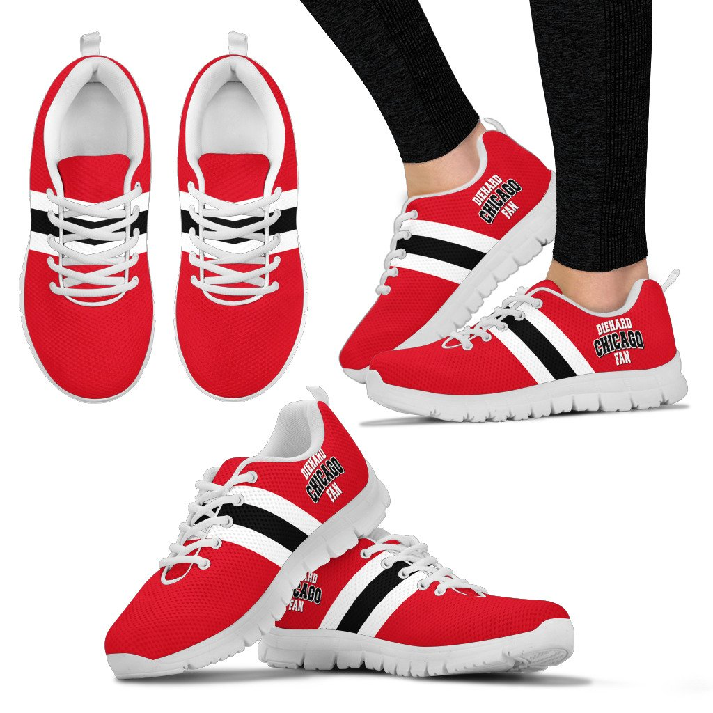 Die Hard Chicago Fan Running Shoes - Men/Women/Kids