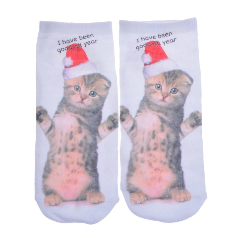 3D Cat Socks - Gear Stop Shop