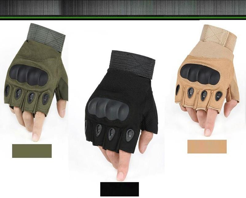 Tactical Fingerless Gloves