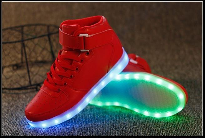 Unisex LED Light Up Sneakers