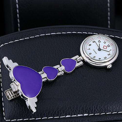 Heart Shaped Nurse Pocket Watch Offer