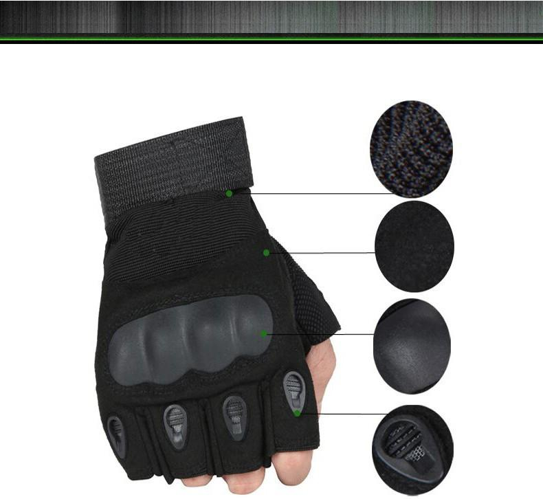 Tactical Fingerless Gloves Offer