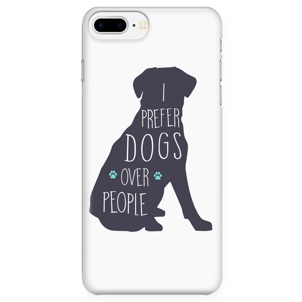 Dogs Over People Phone case