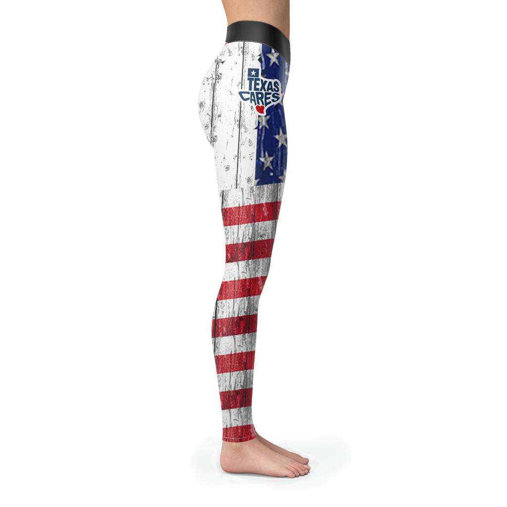 American Made Texas Care Leggings Style 2 - Gear Stop Shop