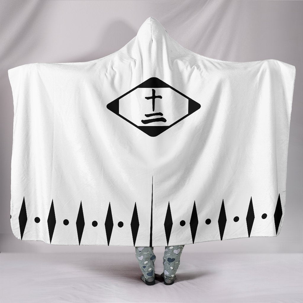 Bleach Captain Class Shinigami Hooded Blanket Twelve - Gear Stop Shop