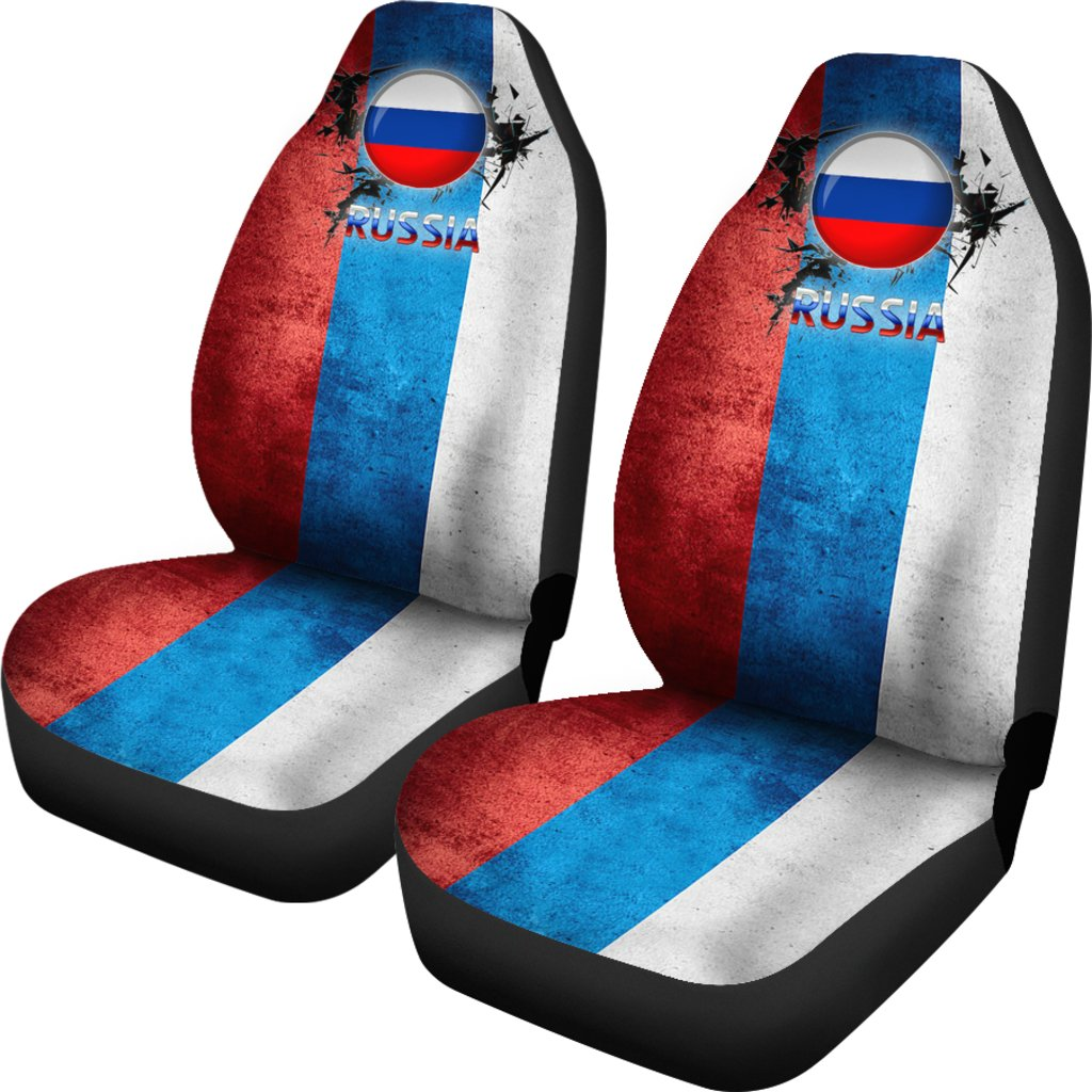 die hard russia world cup car seat cover set of two gear stop shop. Black Bedroom Furniture Sets. Home Design Ideas