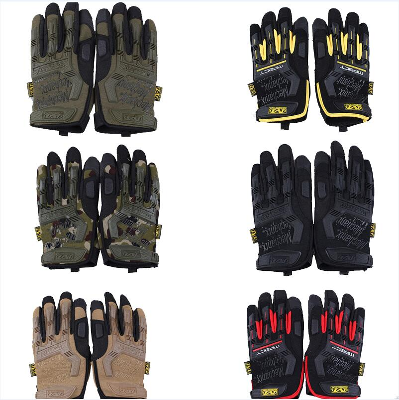 Tactical Full Finger Gloves 2