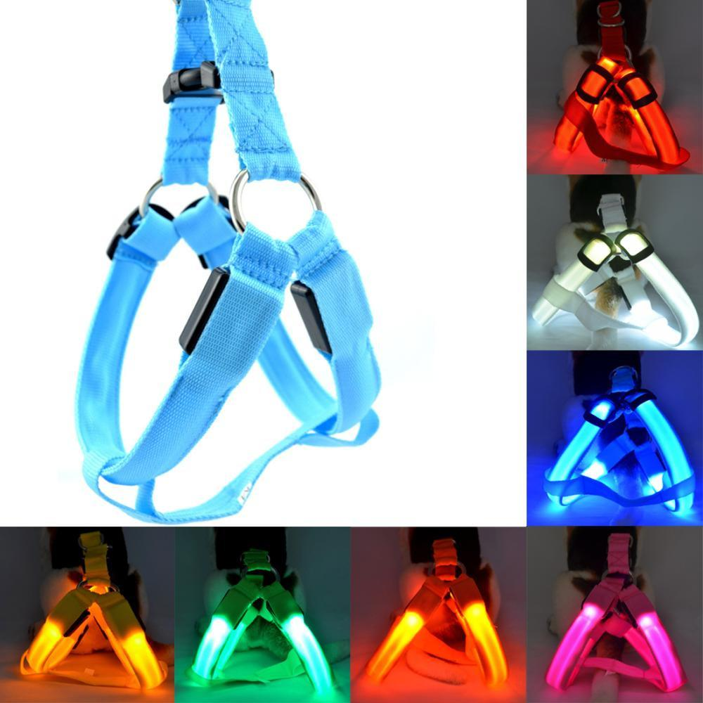 Glow in the Dark LED Pet Harness