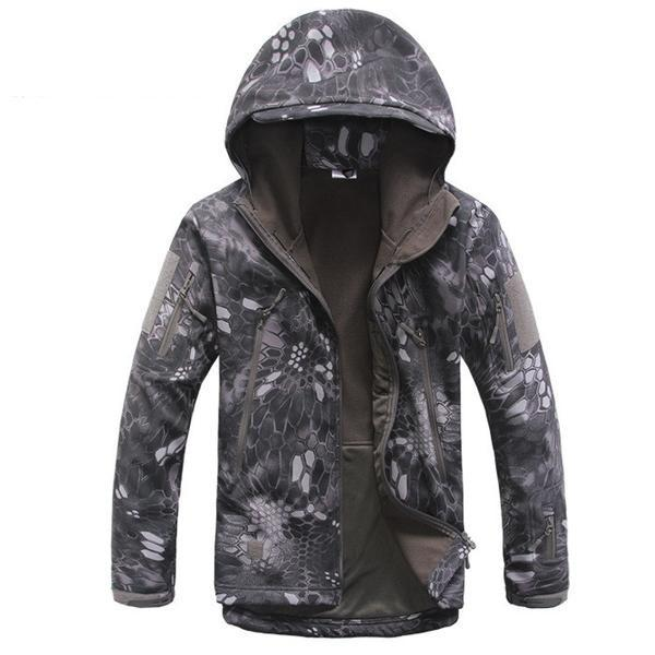 Shark Skin Military Tactical Softshell Mens Jacket