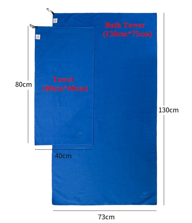 Antibacterial Ultralight Quick Drying Towel - Gear Stop Shop