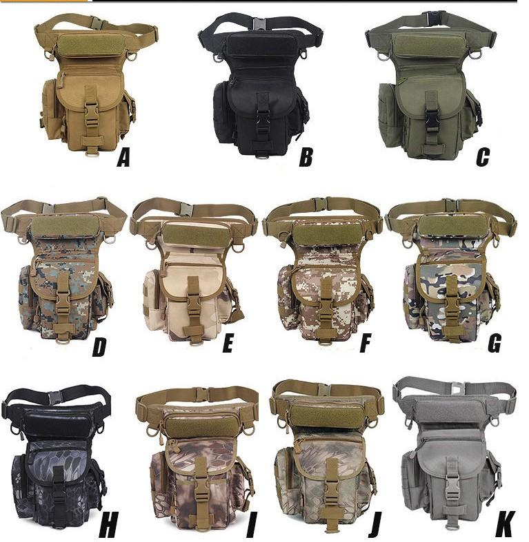 Professional Military Utility Thigh Pouch Leg Bag