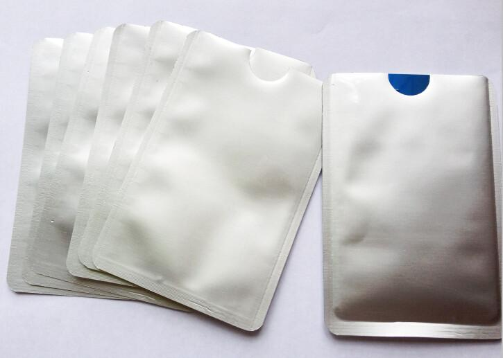 10 pcs Anti Scan Blocking Sleeve Security for Credit Card - Gear Stop Shop