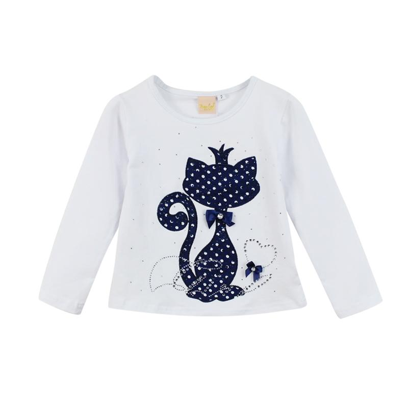 2 Piece Baby Girls Cute Cat Print Long Sleeve Suit - Gear Stop Shop