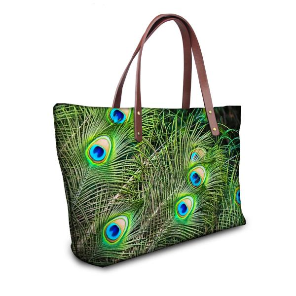 Animal Peacock Printing Shoulder Bag - Gear Stop Shop