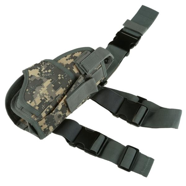 Adjustable Tactical Leg Holster w/ Mag Pouch (Right) - Gear Stop Shop