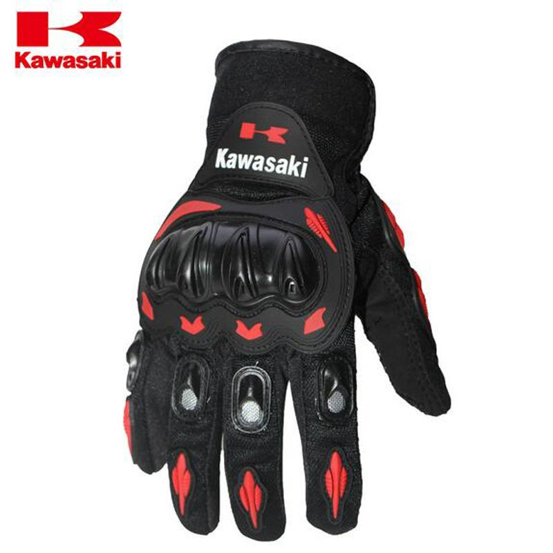 Motorcycle Kawasaki Racing Gloves