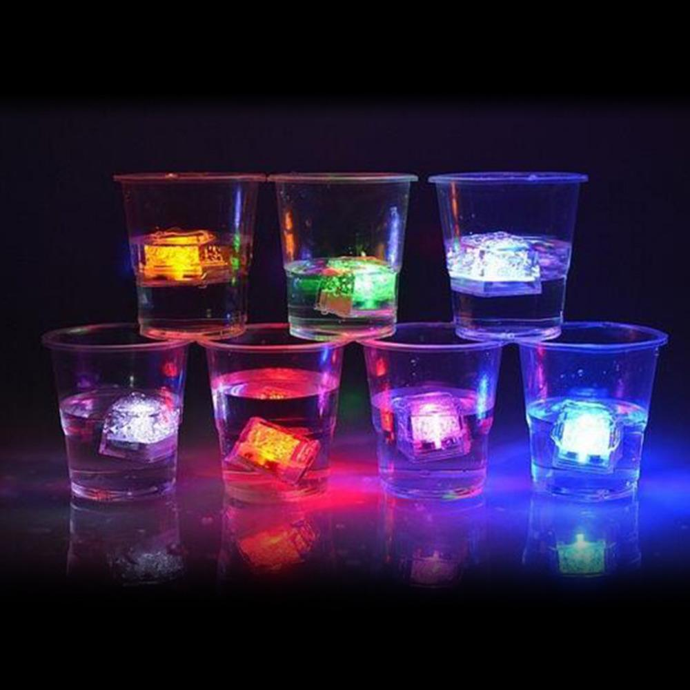 6pcs  Colorful Fluorescent Light-Emitting Ice Cubes - Gear Stop Shop